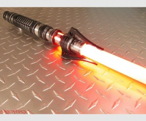 LED Sith Saber – The Dark Side has never looked cooler.