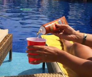 Sunscreen Bottle Flask – SPF-ilicious