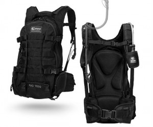 TheGeigerrig hydration backpack comes with a built in hydration system ideal for hikers, bikers, and the thirsty high school student.