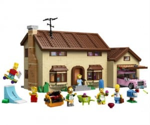 Own your very own legoized version of 742 Evergreen Terrace!