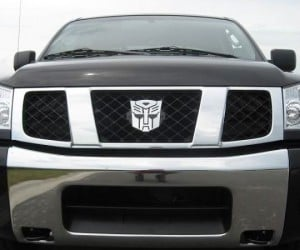 Transformers Car Emblem – Is your car a robot in disguise?