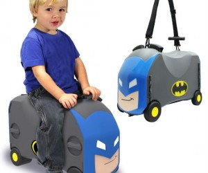 It's like your kid's own personal batmobile that holds all their toys!