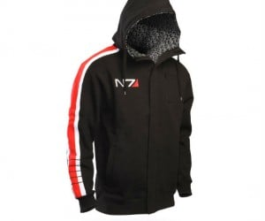 Mass Effect N7 Stripe Hoodie – Look as good as Commander Shepherd!