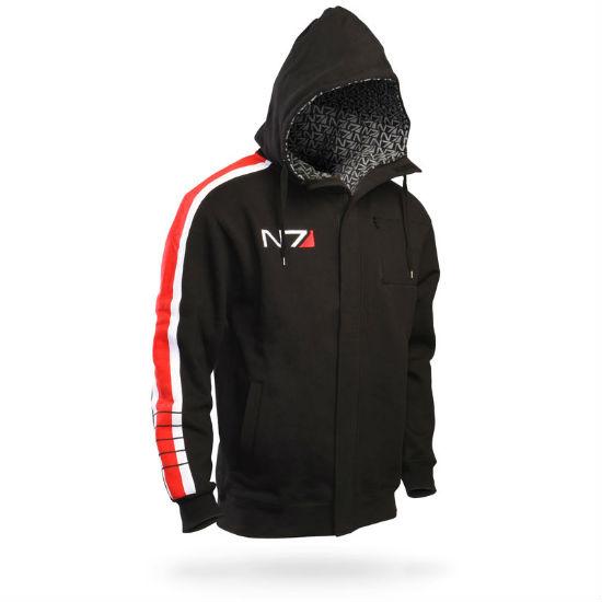 mass effect n7 stripe hoodie