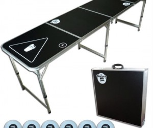 Bring your beer pong table anywhere, you never know when there's going to be a party!