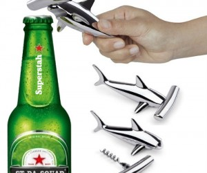 Hammerhead Shark Corkscrew and Bottle Opener – Time to get hammered!