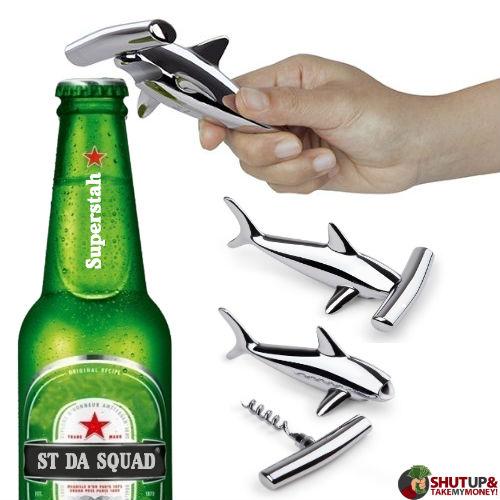 hammerhead shark bottle opener