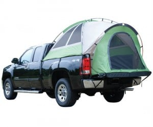 Turn your truck bed into a safe and comfortable place to camp out!