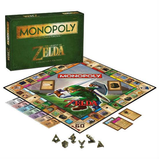 the legend of zelda monopoly