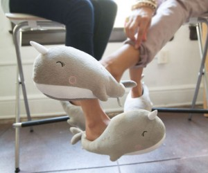 Narwhals: The unicorns of the sea and now the warmers of your feet!