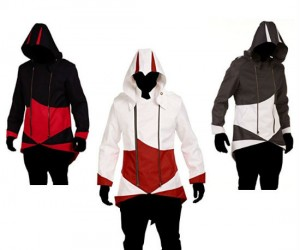 Assassin's Creed Hoodies – Now you too can sneak stealthy into the night, (or just sit on a park bench without being noticed).