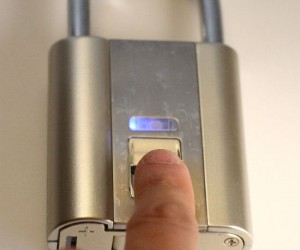 Now your fingers are your keys! Never worry about lost or stolen keys ever again.