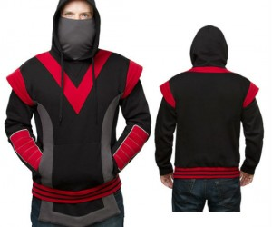 Ninja Hoodie –  To be stealth you need the perfect cover
