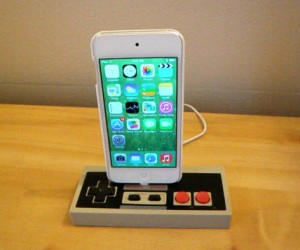 Nintendo Controller iPhone Dock – Powered by sweet 80's nostalgia.