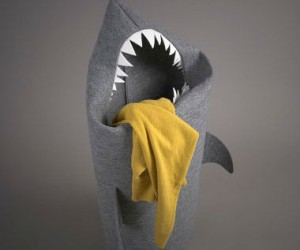 Felt Shark Laundry Basket – Just when you thought it was safe to do laundry…