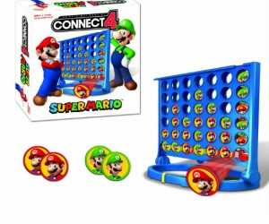 It's Mario Vs. Luigi in a battle of connecting four dots!