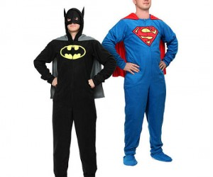What else did you think superheroes wore to bed?