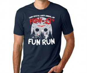 Friday The 13th Fun Run Tee – It's that time of the year again!