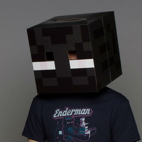 Minecraft Enderman Mask Shut Up And Take My Money