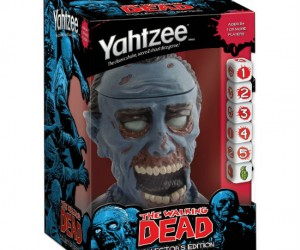 Coincidentally the emptiness of a zombie's skull makes the perfect Yahtzee dice cup!