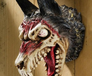 Convince your friends that you went werewolf hunting this Halloween and caught yourself a trophy!