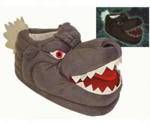 Great for stomping around the house and knocking over stuff!