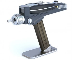 Star Trek universal remote gesture based phaser – Set phasers to relax!