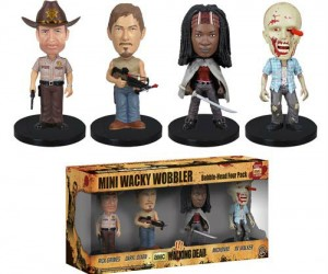 Walking Dead Bobble Head Set! – Claimed!