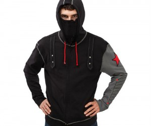 Winter Soldier Hoodie – Guaranteed to be more comfortable than the actual costume!