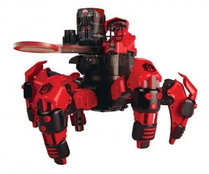 Attaknid Battling Robot Spider – What's more frightening that a giant battling robotic spider?