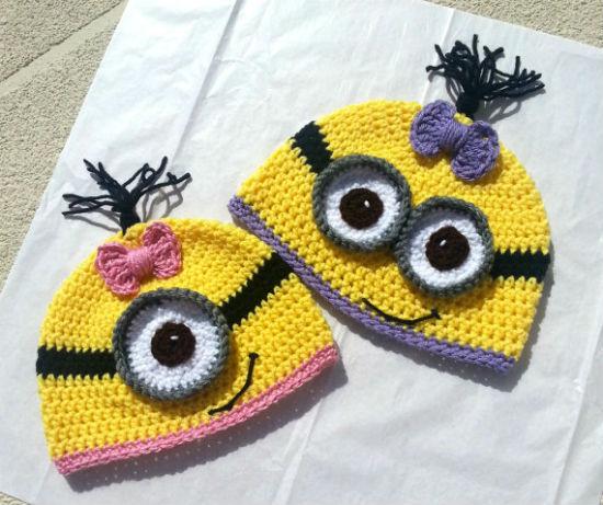 despicable-me-crochet-beanie