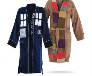 Doctor Who Bathrobes – Get comfy with the Doctor…