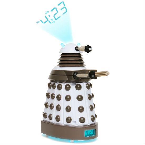 doctor who dalek projection alarm clock