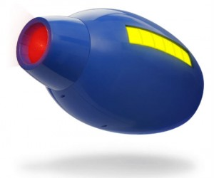 Add a little mega man to your own arm with the buster gun replica!
