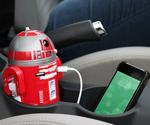 R2D9 Car Charger – Now Verzon Tennd's personal droid can be yours!