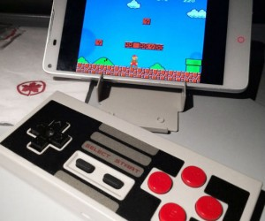 The perfect controller for playing all those classic 8 bit emulators on your phone!