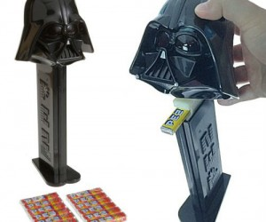 A pez dispenser so big it dispenses entire packs of pez instead of just single pieces!