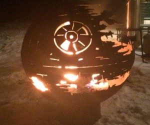 Now you can have the smoldering wreckage of what was once the Death Star in your backyard!