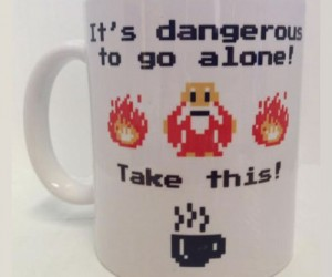 Zelda It's dangerous to go alone, you'll need some caffeine first!