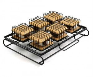 Who needs a campfire when you've got a grill and a roasting rack?