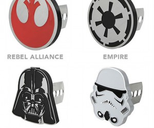Star Wars Trailer Hitch Covers – Great for towing around broken down pod racers.