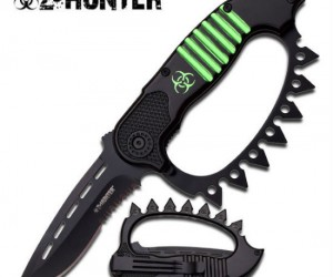 Z-Hunter Subterrene Assisted Opening Knife – Just when you thought knives couldn't get any cooler… they did.