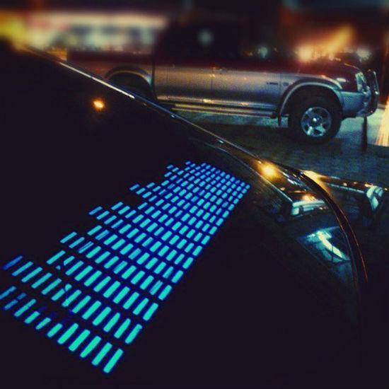 equalizer car sticker