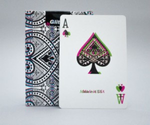 Glitch Playing Cards – (Not recommended for drinking games.)
