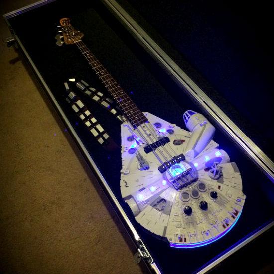 Millennium Falcon Bass Guitar - Shut Up And Take My Money