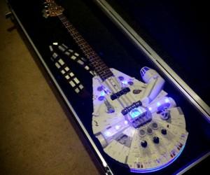 Star Wars Millennium Falcon Bass Guitar – I've found the rebel bass!