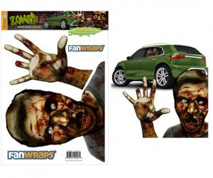 It's probably a bad idea to approach a vehicle with a zombie in the window…
