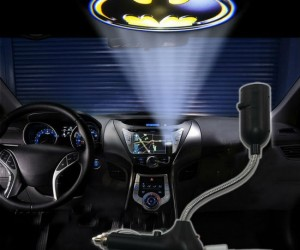 Since there's no way you can afford your own Batmobile, this will have to do.