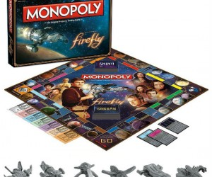 Firefly's back! Comes with 6 different game pieces including Serenity herself!