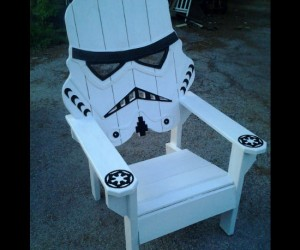 Even a busy Stormtrooper dreams of a relaxing vacation on the beach!